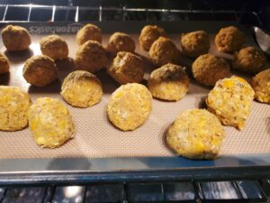 Meatless Monday Dinner- Meatless Chick Pea Balls