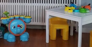 Second Hand Vtech Drums and Hippos Game for Our More Sustainable Christmas