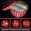 Valentine's Day Fire Starters: 3 Variations available