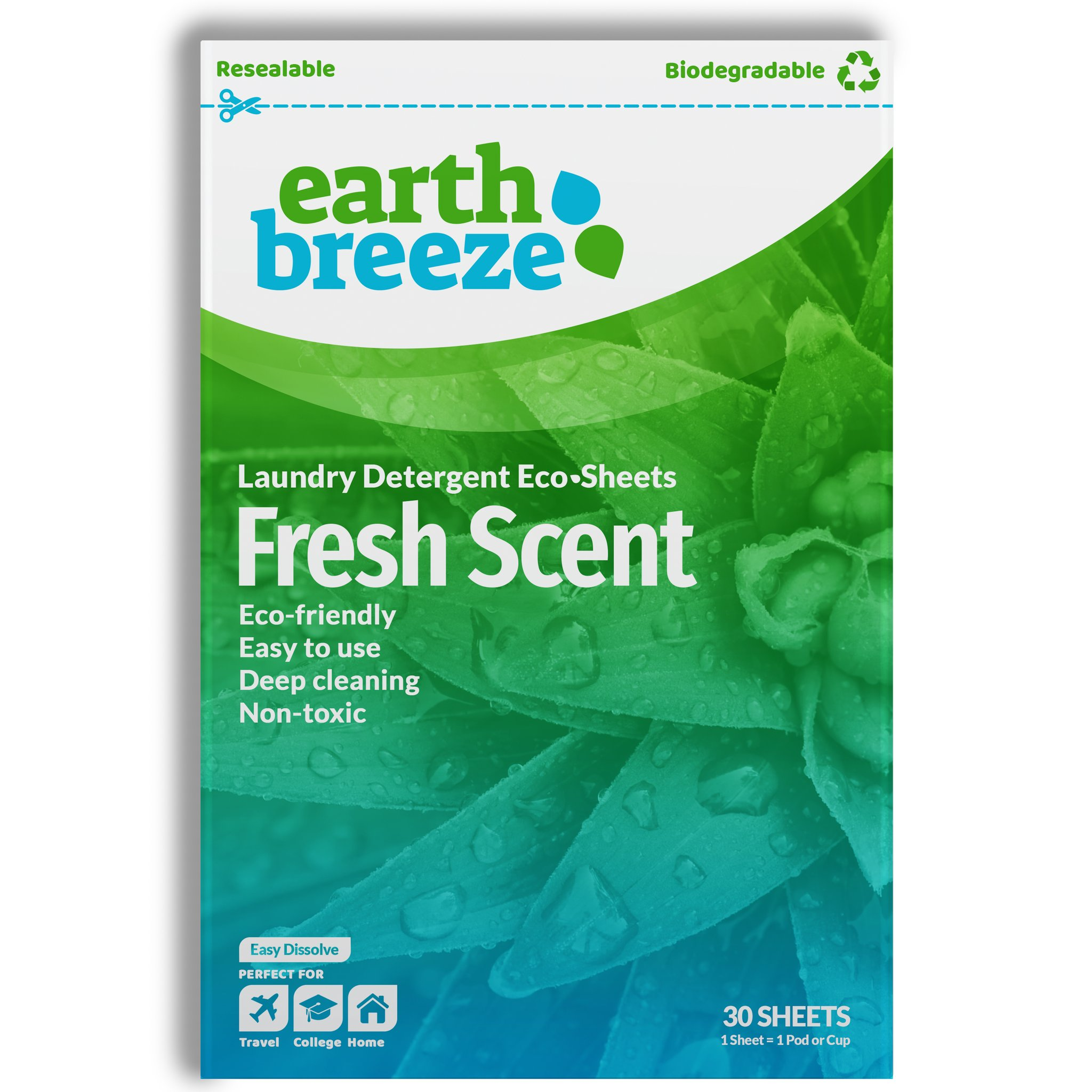 Earth Breeze Laundry Detergent for your Eco-Conscious Household